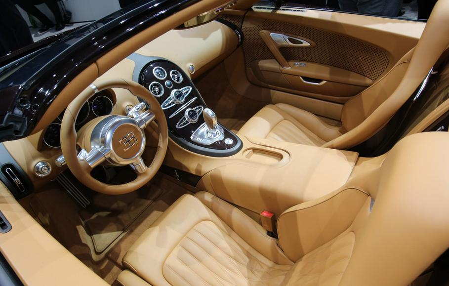 2021 Bugatti Veyron Interior