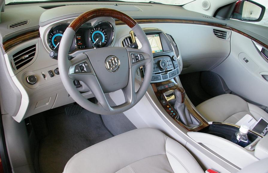2021 Buick Lacrosse Interior