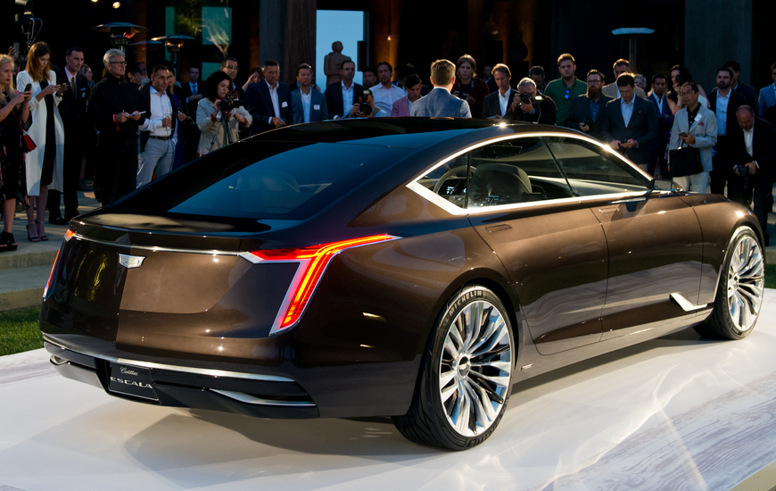 2021 Cadillac CT8 Concept