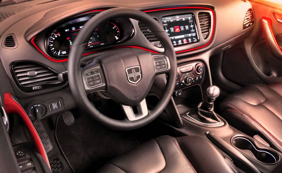 2021 Dodge Dart Interior