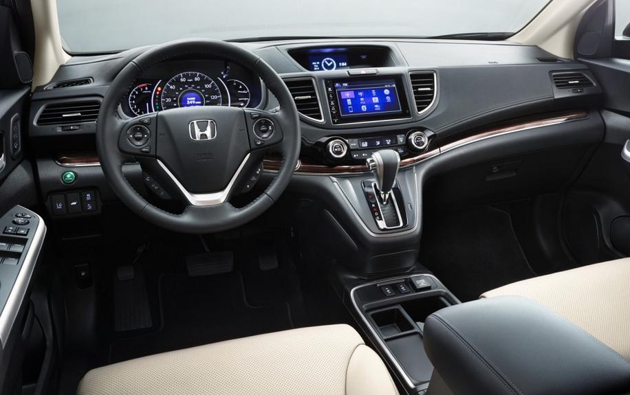 2021 Honda CRV Interior