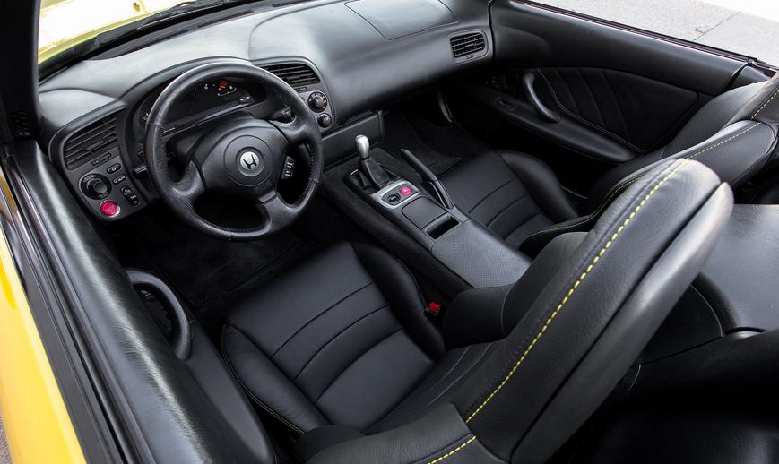 2021 Honda S2000 Interior