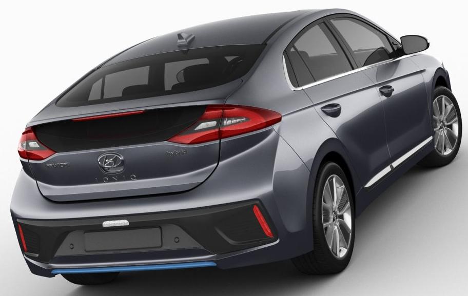 2021 Hyundai Ioniq Hybrid Concept