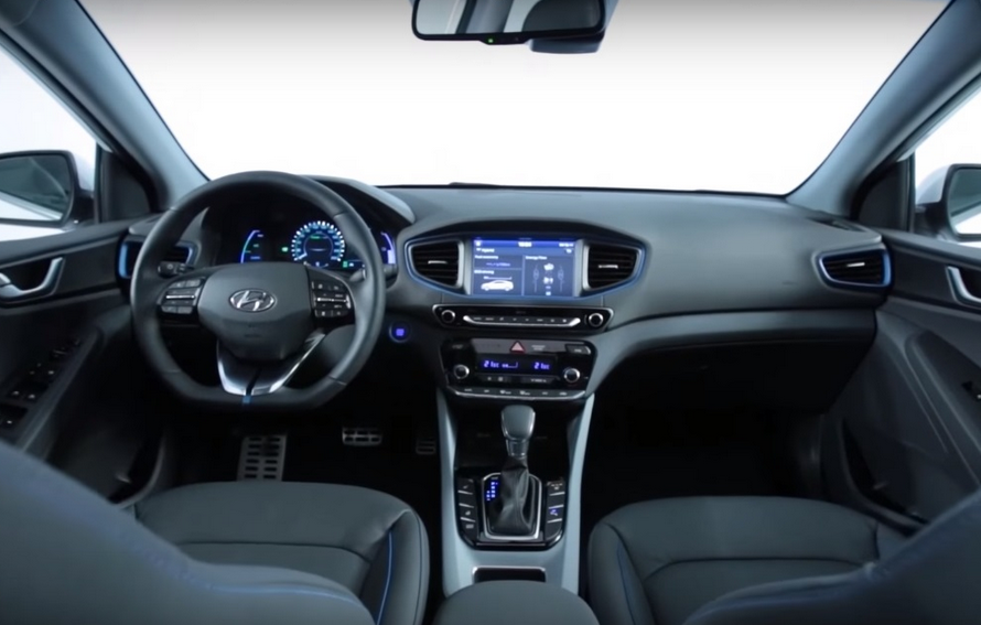 2021 Hyundai Ioniq Hybrid Interior