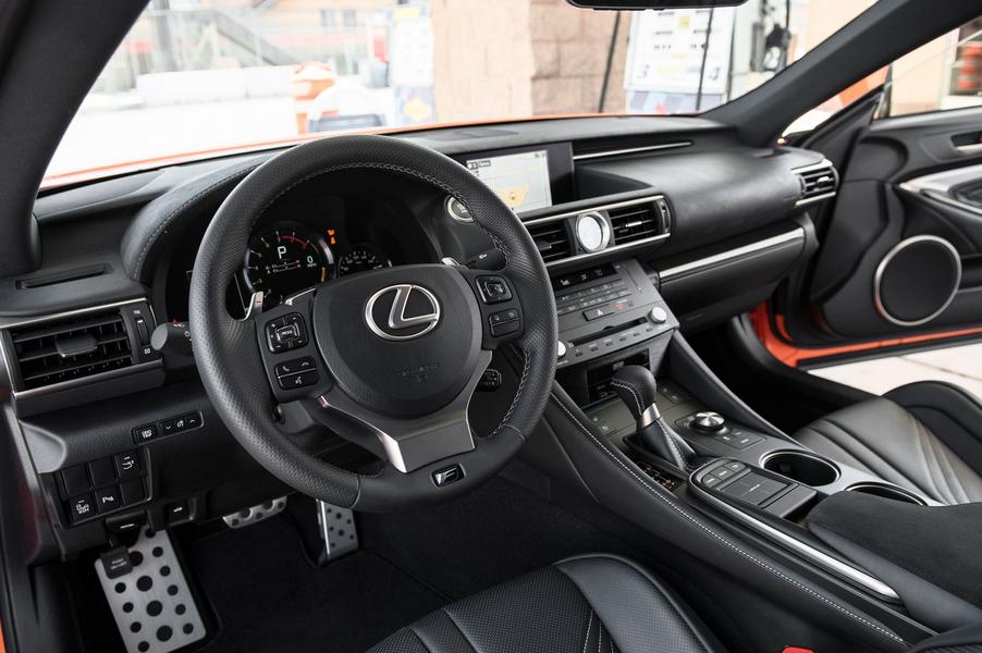 2021 Lexus RC-F Interior