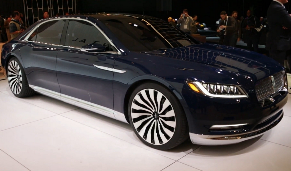 2021 Lincoln Continental Exterior