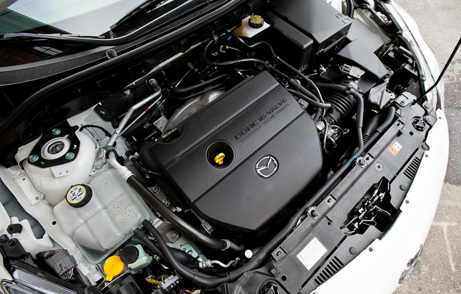 2021 Mazda 3 Sedan Engine