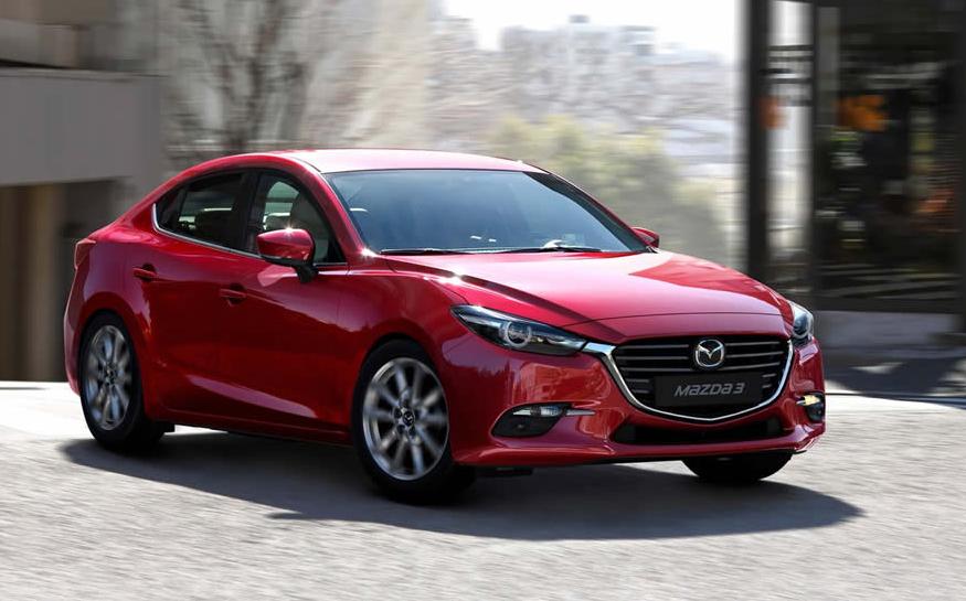 2021 Mazda 3 Sedan Exterior