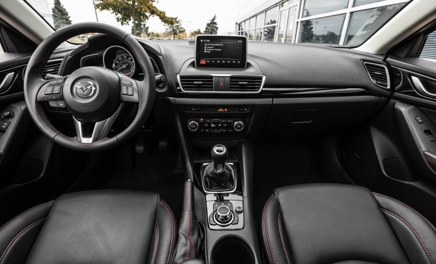 2021 Mazda 3 Sedan Interior