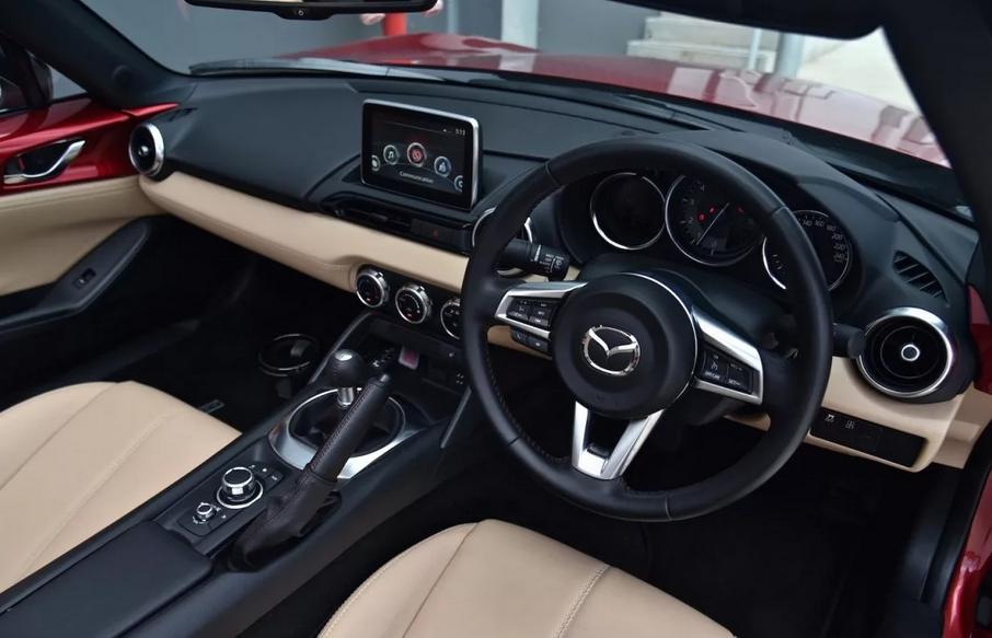 2021 Mazda MX5 Interior