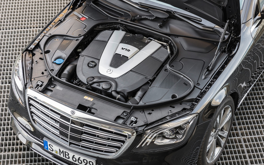 2021 Mercedes-Benz S-Class Engine