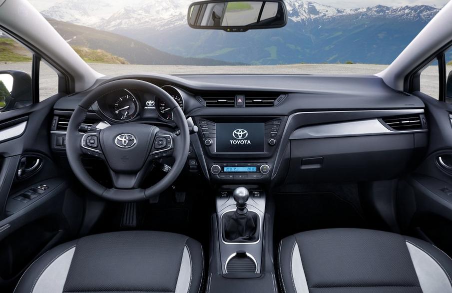 2021 Toyota Avensis Interior
