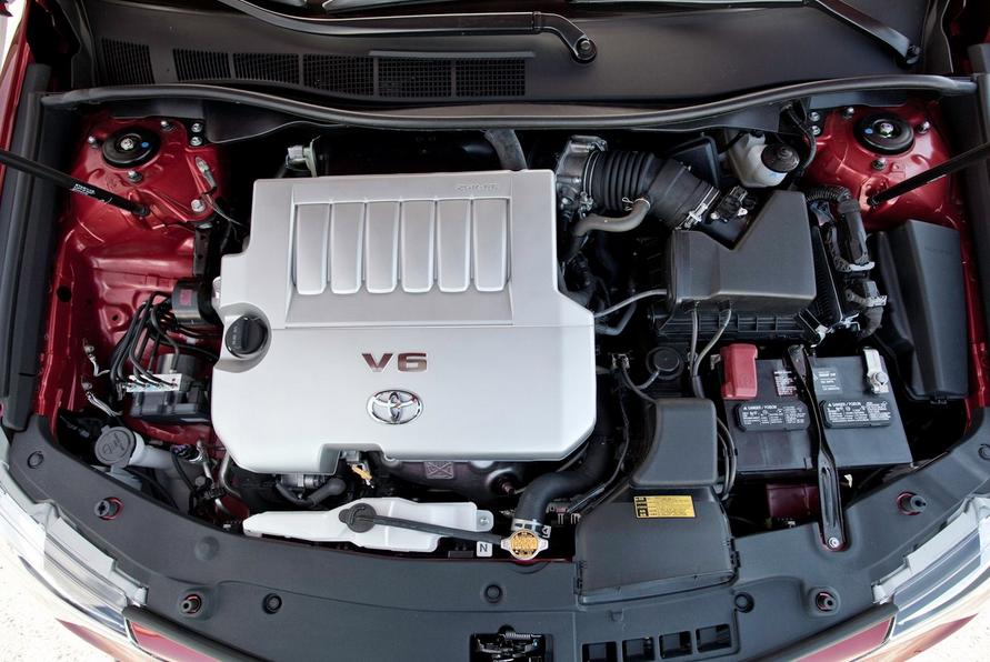 2021 Toyota Camry Engine