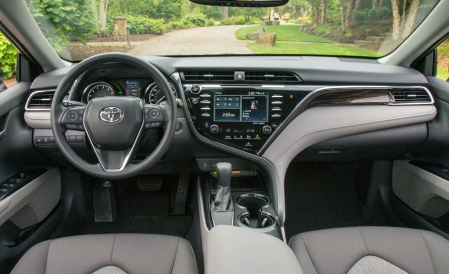 2021 Toyota Camry Hybrid Interior