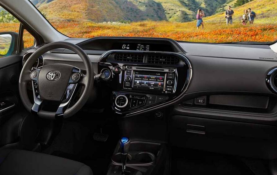 2021 Toyota Prius Interior