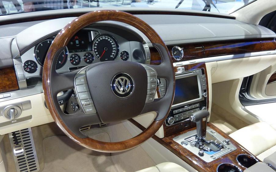 2021 Volkswagen Phaeton Interior