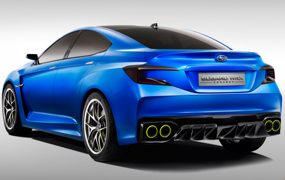 New 2020 Subaru WRX Concept