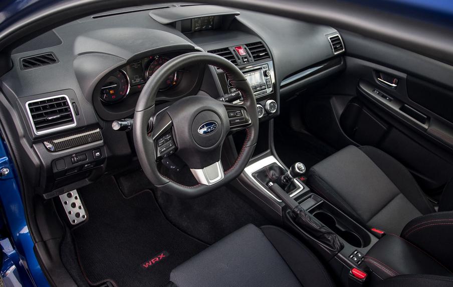 New 2020 Subaru WRX Interior
