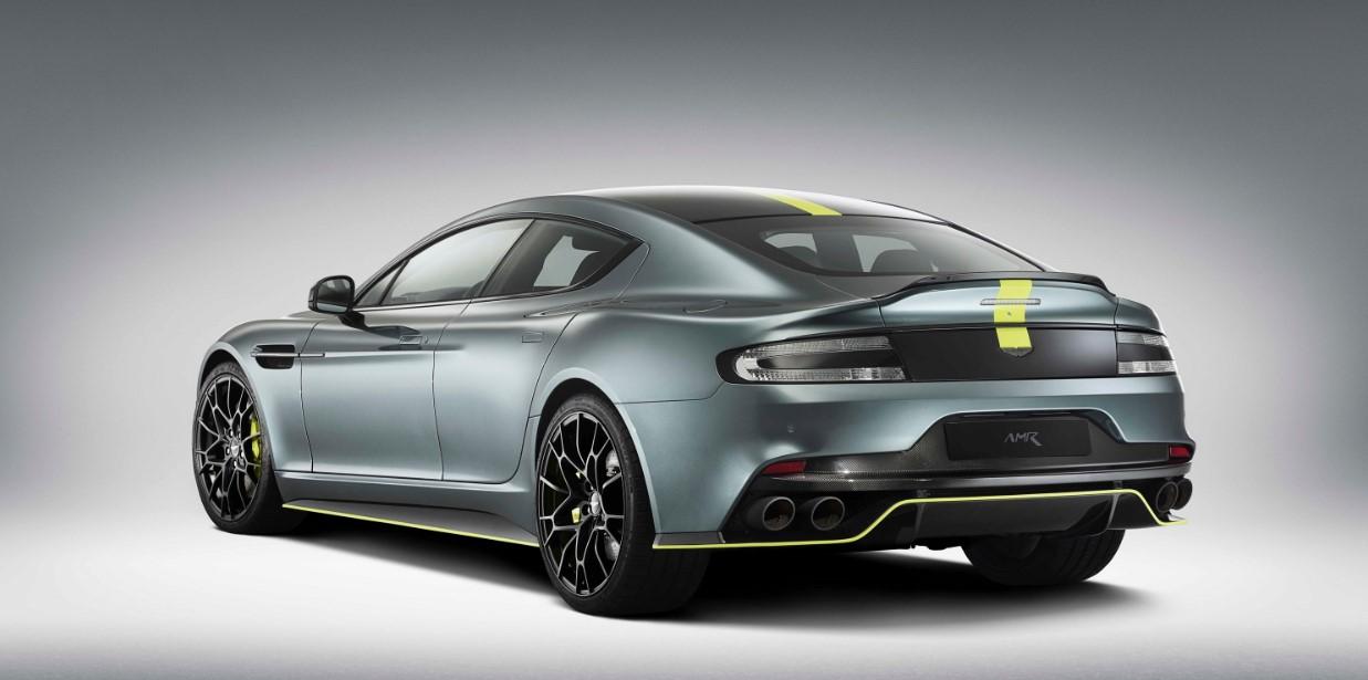 2019 Aston Martin Rapide Engine