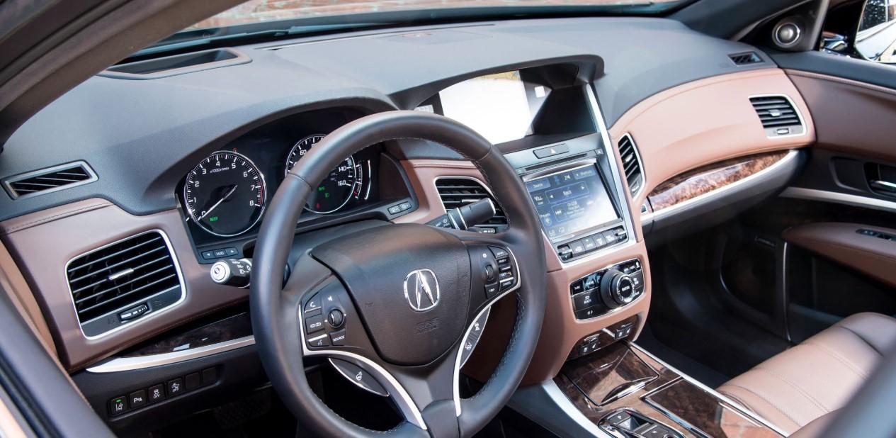 2020 Acura RLX Coupe Interior