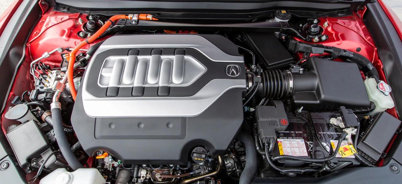 2020 Acura TLX Hybrid Engine