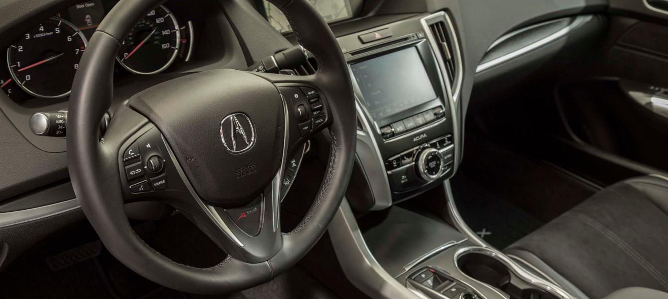 2020 Acura TLX Hybrid Interior