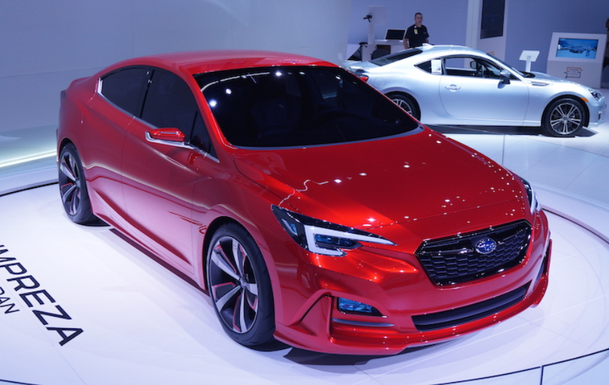2020 Subaru Impreza Sedan Exterior