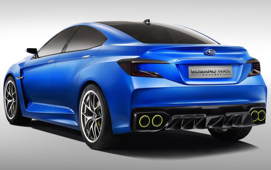 2020 Subaru Impreza WRX STI Concept