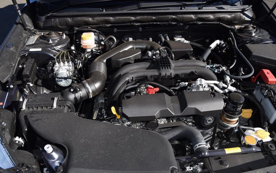 2020 Subaru Outback Spy Photos Engine