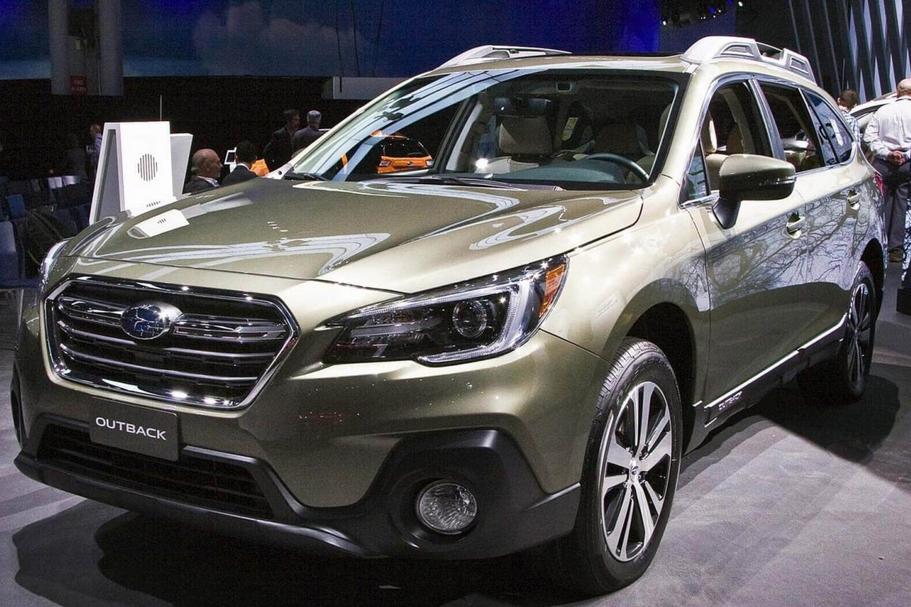 2020 Subaru Outback Spy Photos Exterior