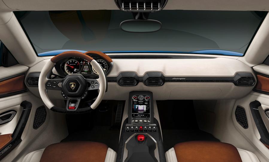 2021 Lamborghini Asterion Interior
