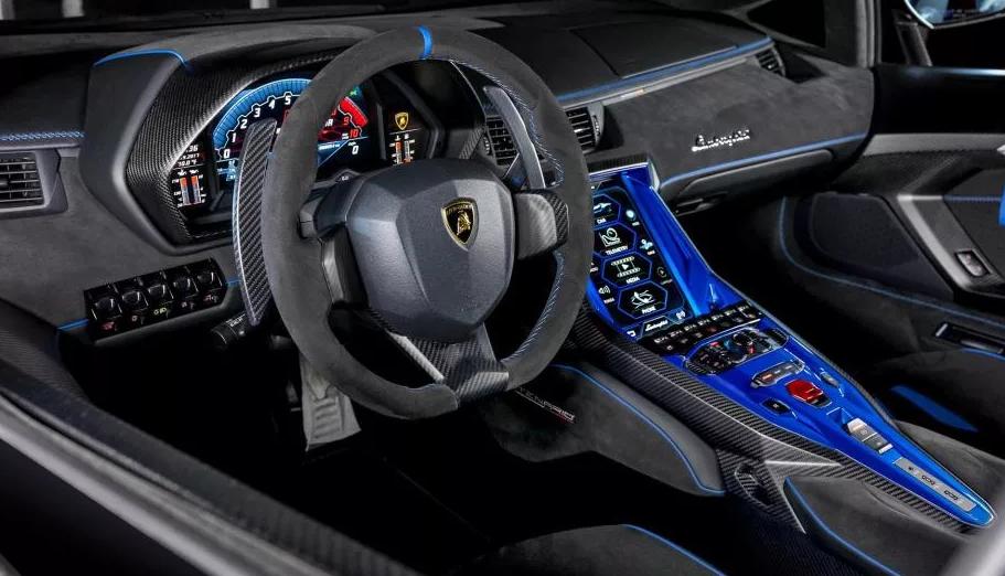 2021 Lamborghini Veneno Interior