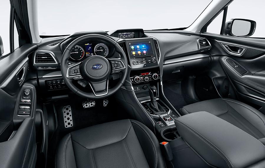 Novità Subaru 2020 Interior