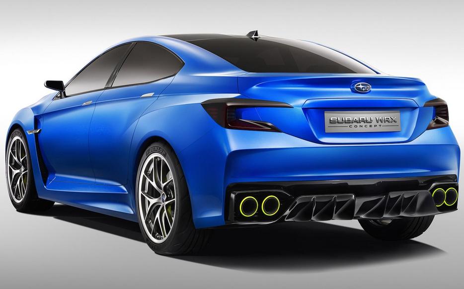 Subaru 2020 WRX Concept