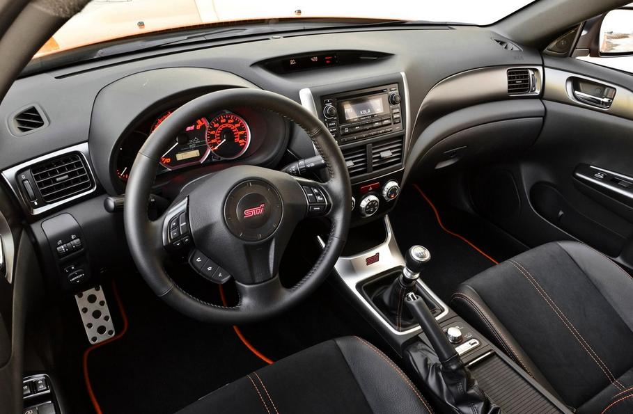 Subaru 2020 WRX Interior