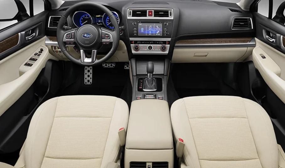 Subaru Outback 2020 Australia Interior