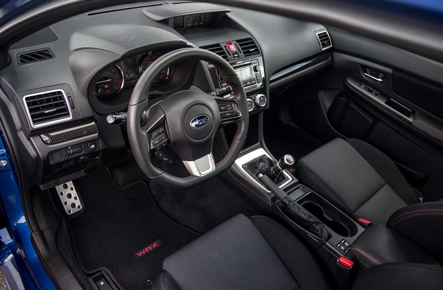 Subaru WRX 2020 Model Interior
