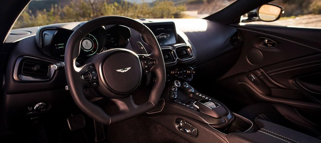 2019 Aston Martin Vantage Interior