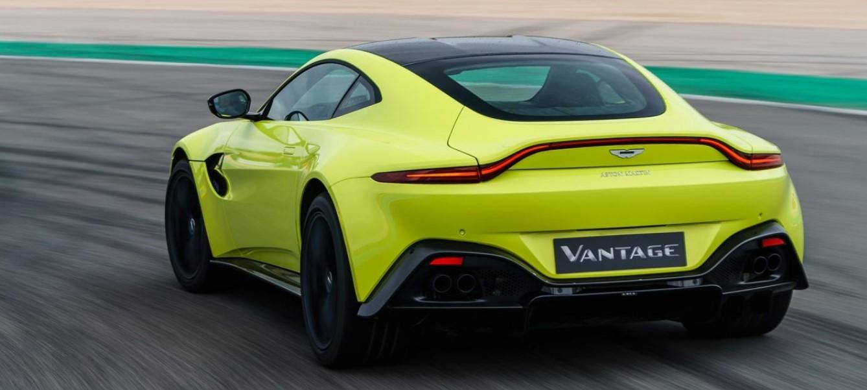 2019 Aston Martin Vantage Engine