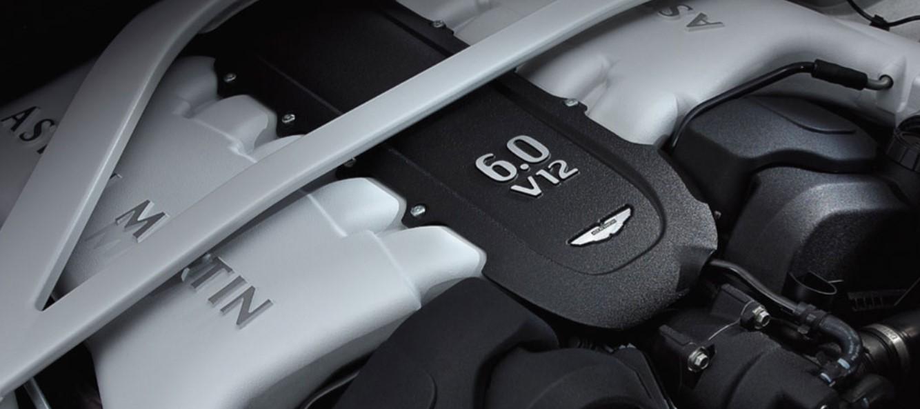 2020 Aston Martin Rapide S Engine