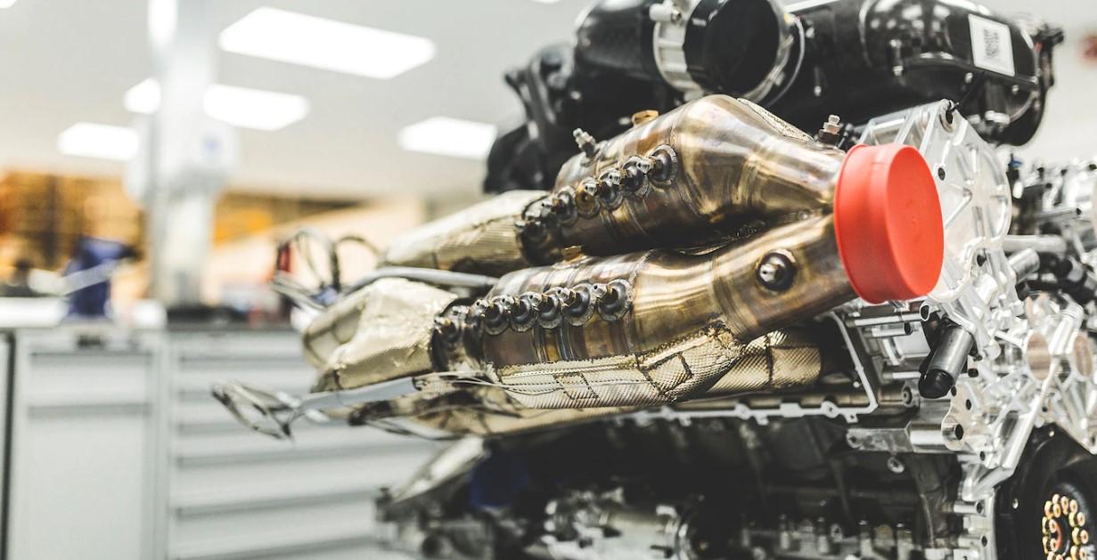 2019 Aston Martin Valkyrie Engine