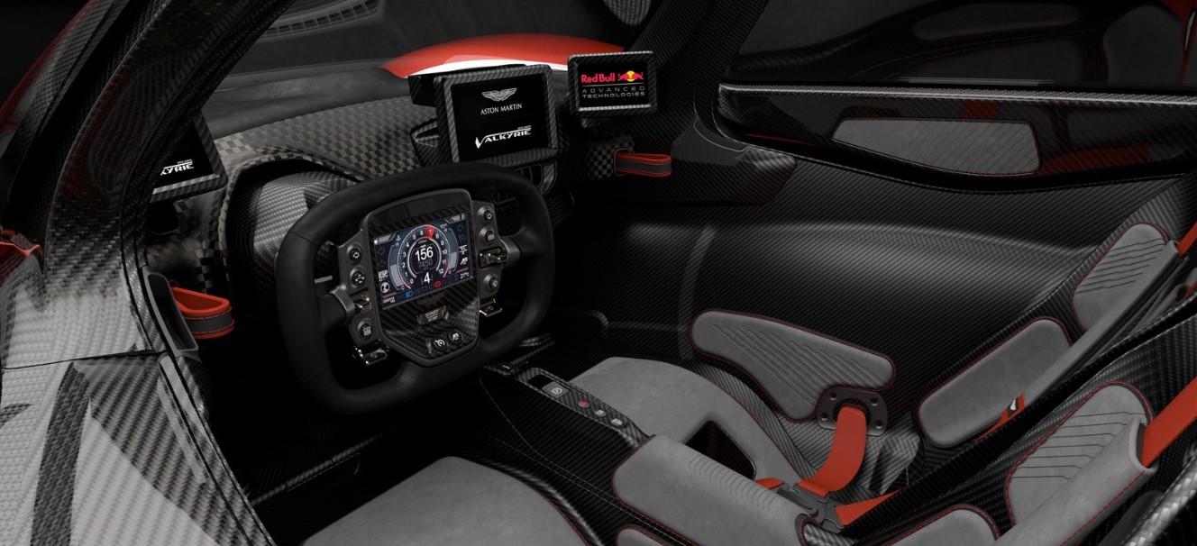 2019 Aston Martin Valkyrie Interior