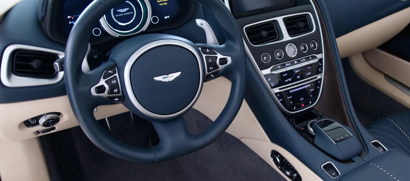 2019 Aston Martin Vanquish Convertible Interior