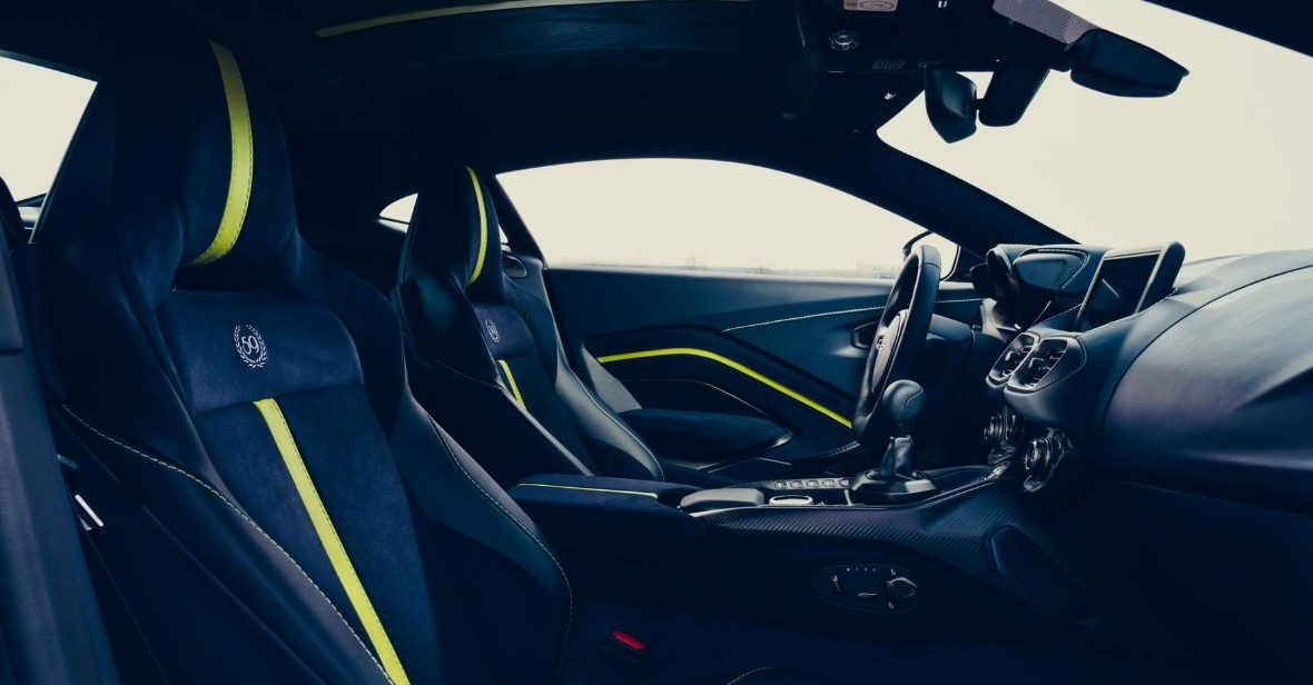 2020 Aston Martin DB11 Interior