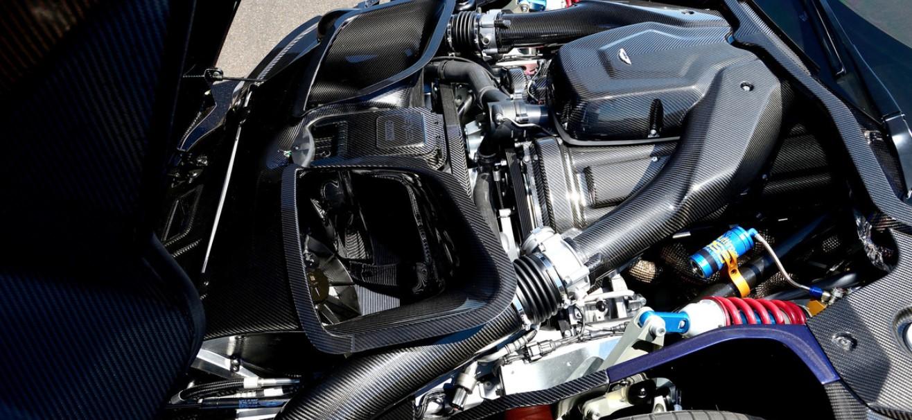 2020 Aston Martin Vulcan Engine