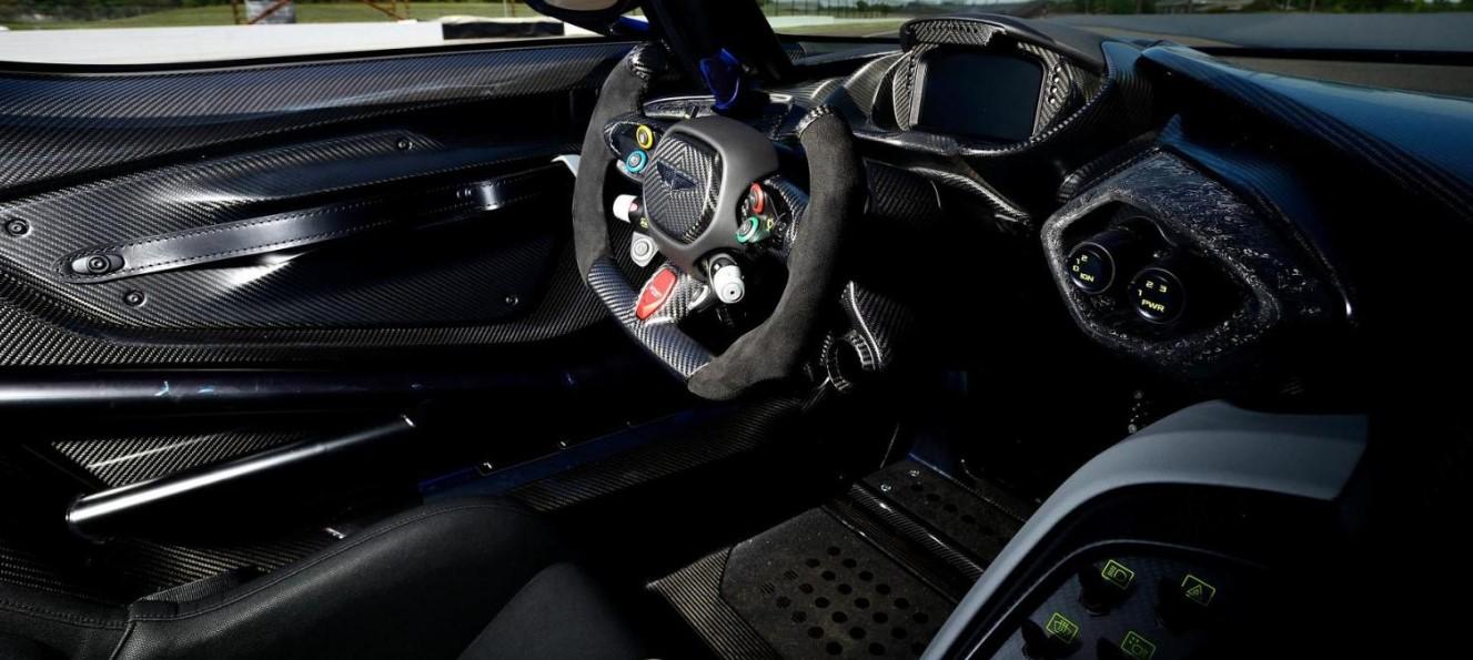 2020 Aston Martin Vulcan Interior