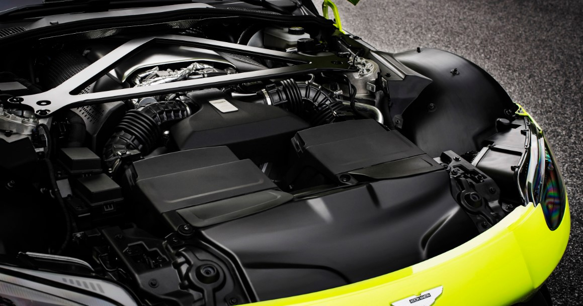 Aston Martin Vantage 2019 Engine