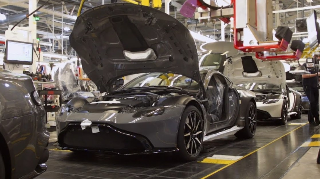 Aston Martin Vantage 2020 Engine