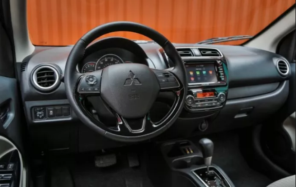 2020 Mitsubishi Mirage interior