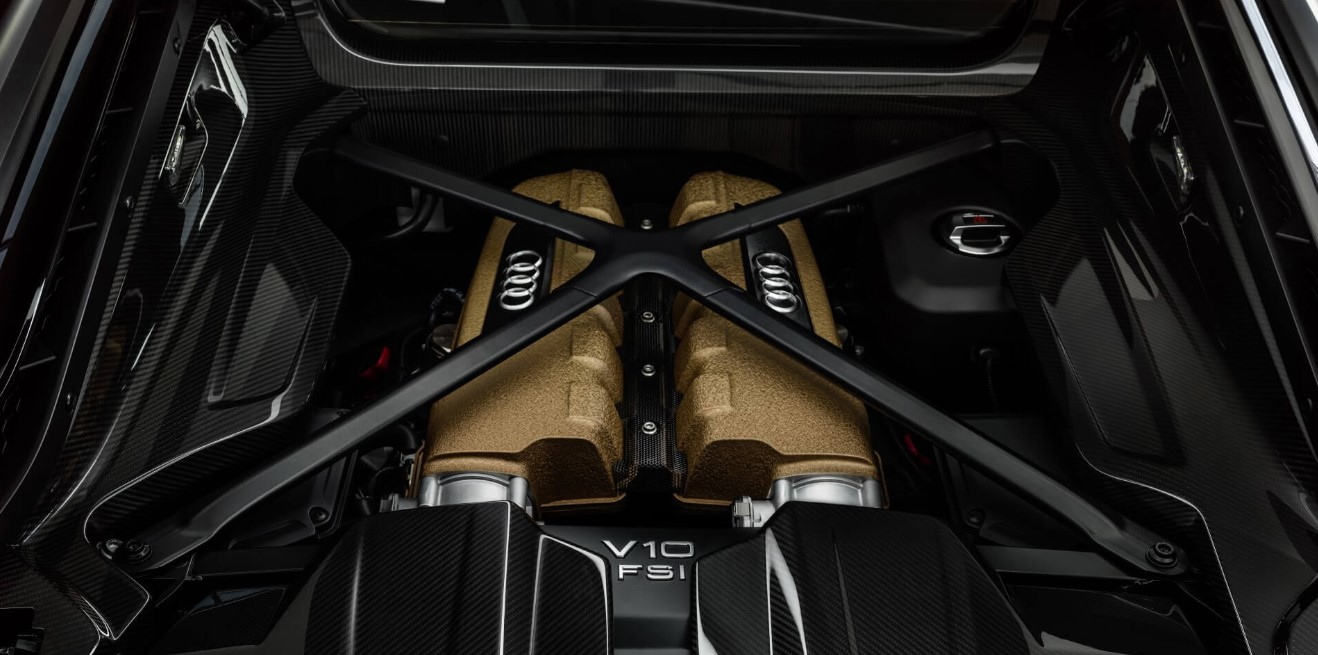 2021 Audi R8 Engine